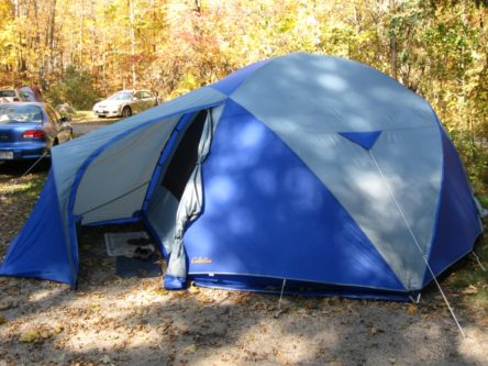 Cabelau0027s West Wind Tent (8 Person Model) & My Tent: Cabelau0027s Westwind Deluxe 8 - Jimmyu0027s Sweet Blog
