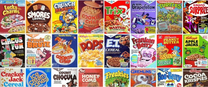 Breakfast Cereals Ranked Jimmy S Sweet Blog